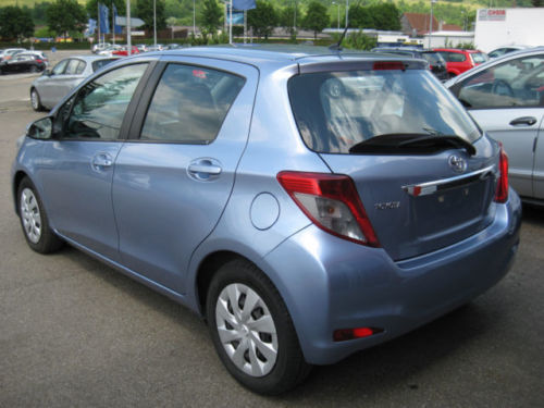 verkauft toyota yaris 1 4 d 4d klima gebraucht 2012 km in geislingen an der. Black Bedroom Furniture Sets. Home Design Ideas