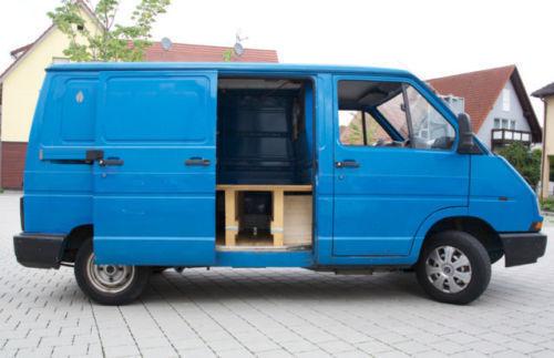 verkauft renault trafic camper umbau gebraucht 1997. Black Bedroom Furniture Sets. Home Design Ideas