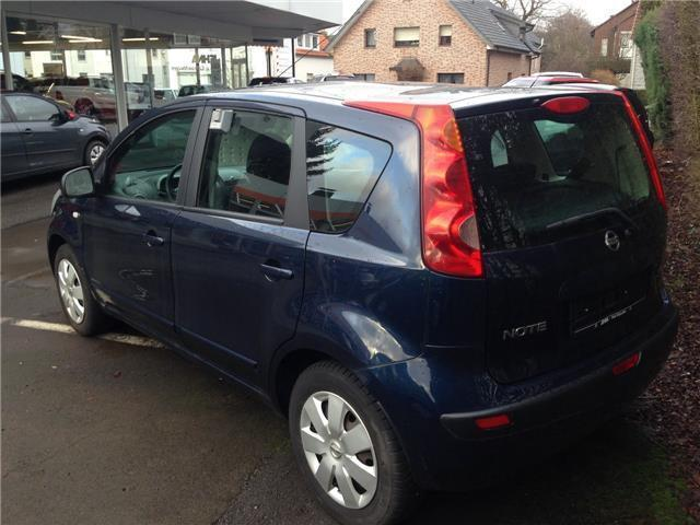 verkauft nissan note 1 4 acenta gebraucht 2007 km. Black Bedroom Furniture Sets. Home Design Ideas