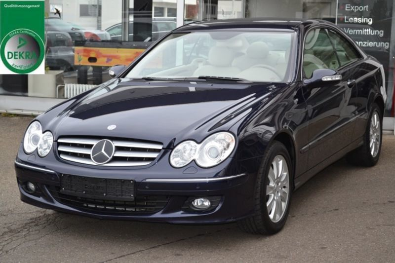 verkauft mercedes clk280 clk coupelede gebraucht 2006 km in altdorf. Black Bedroom Furniture Sets. Home Design Ideas