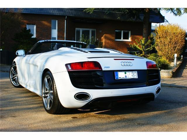 verkauft audi r8 spyder 5 2 fsi top ge gebraucht 2011 km in pfungstadt. Black Bedroom Furniture Sets. Home Design Ideas