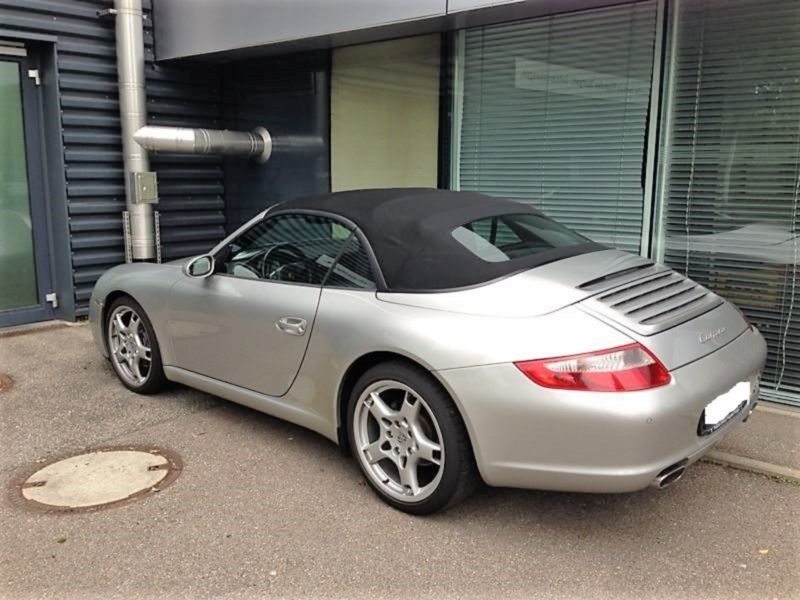 verkauft porsche 997 cabrio us import gebraucht 2006 km in gro hansdorf. Black Bedroom Furniture Sets. Home Design Ideas