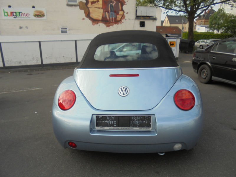 verkauft vw beetle newcabriolet 1 6 hi gebraucht 2003 km in wiesbaden. Black Bedroom Furniture Sets. Home Design Ideas