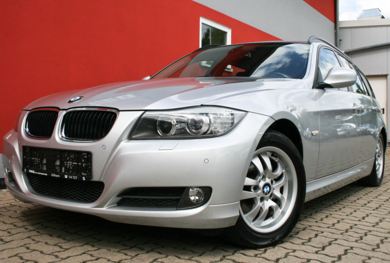 verkauft bmw 318 d dpf touring gebraucht 2009 km in saarlouis. Black Bedroom Furniture Sets. Home Design Ideas