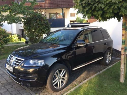 verkauft vw touareg gebraucht 2006 km in konstanz. Black Bedroom Furniture Sets. Home Design Ideas