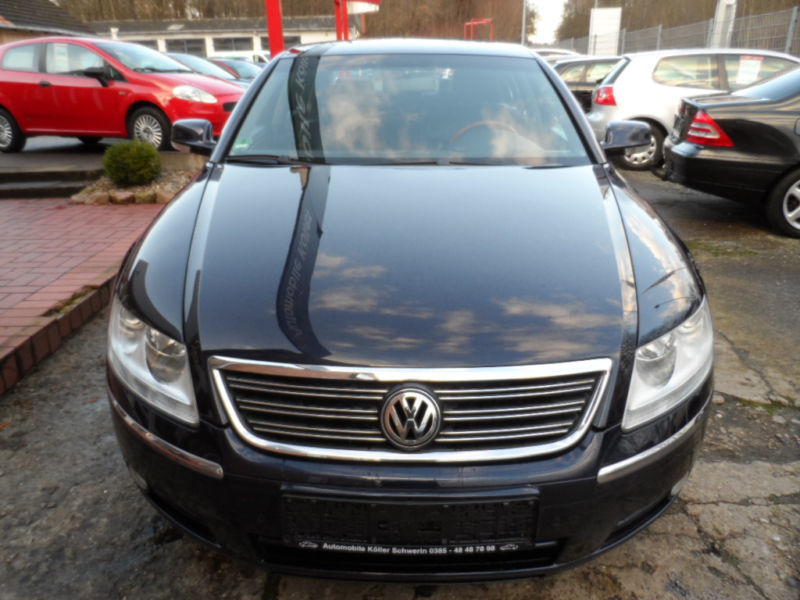 verkauft vw phaeton 3 0 v6 tdi austaus gebraucht 2005 km in schwerin. Black Bedroom Furniture Sets. Home Design Ideas