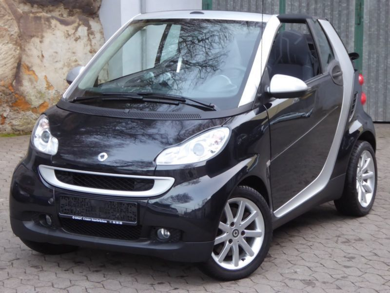 verkauft smart fortwo cabrio gebraucht 2009 km. Black Bedroom Furniture Sets. Home Design Ideas