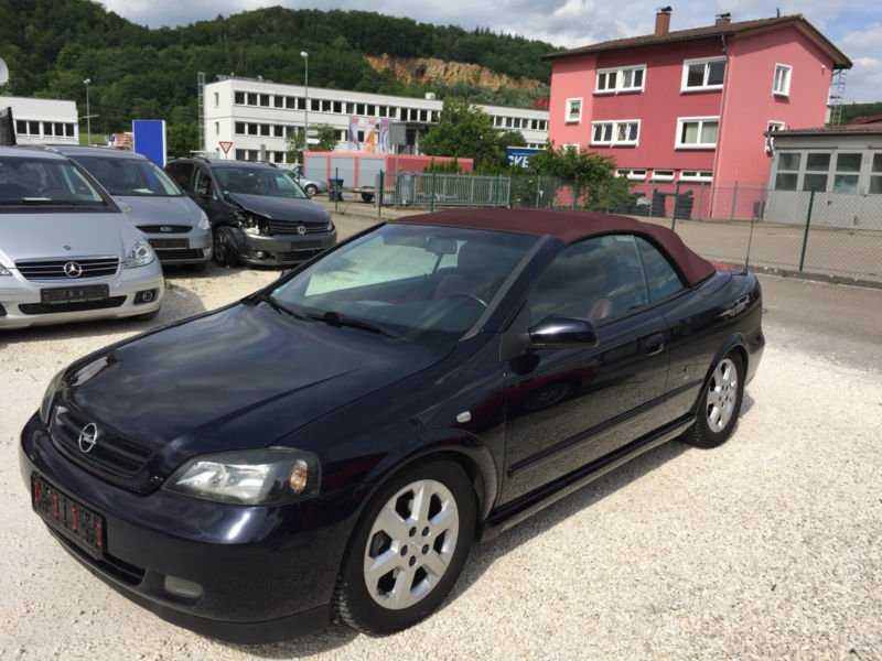 verkauft opel astra cabriolet g 2 2 td gebraucht 2003 km in rietberg. Black Bedroom Furniture Sets. Home Design Ideas