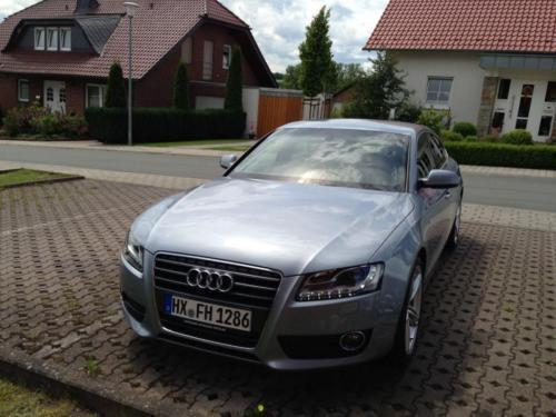verkauft audi a5 gebraucht 2009 km in warburg. Black Bedroom Furniture Sets. Home Design Ideas