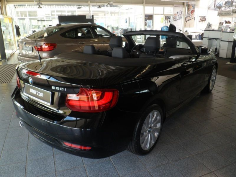 verkauft bmw 220 cabrio gebraucht 2015 km in wismar. Black Bedroom Furniture Sets. Home Design Ideas