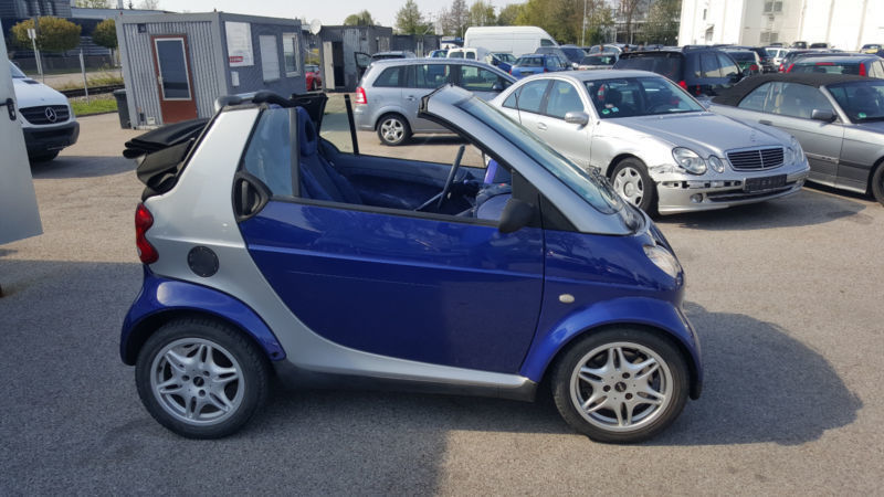 verkauft smart fortwo cabrio gebraucht 2000 km in augsburg. Black Bedroom Furniture Sets. Home Design Ideas