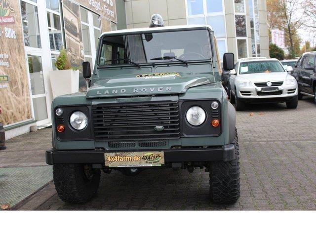 verkauft land rover defender 130 e cre gebraucht 2012 km in mainz hechtsheim. Black Bedroom Furniture Sets. Home Design Ideas