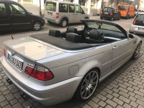 verkauft bmw m3 cabriolet smg gebraucht 2003 km in mainz kastel. Black Bedroom Furniture Sets. Home Design Ideas