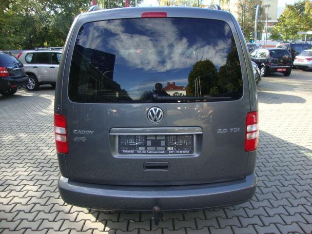 verkauft vw caddy maxi 2 0 tdi highlin gebraucht 2014 km in celle. Black Bedroom Furniture Sets. Home Design Ideas