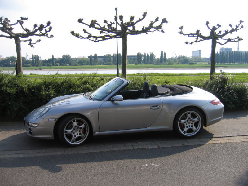 verkauft porsche 997 cabrio s4 gebraucht 2005 km in neuss. Black Bedroom Furniture Sets. Home Design Ideas