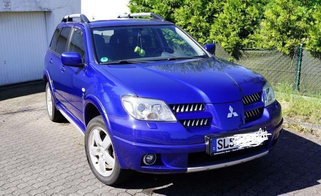 gebraucht 2006 mitsubishi outlander 2.4 benzin € 4.000 - 66809