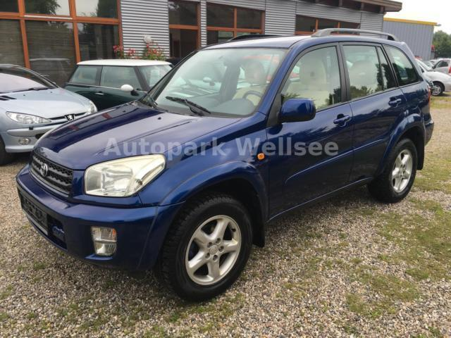 verkauft toyota rav4 2 0 vvt i 4x4 all gebraucht 2003 km in asperg. Black Bedroom Furniture Sets. Home Design Ideas