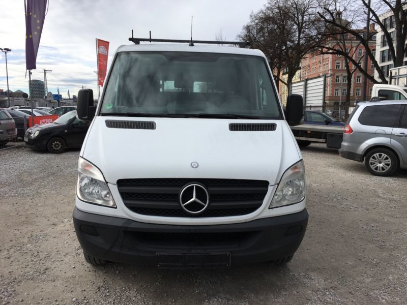verkauft mercedes sprinter ii kasten 2 gebraucht 2007 km in m nchen. Black Bedroom Furniture Sets. Home Design Ideas
