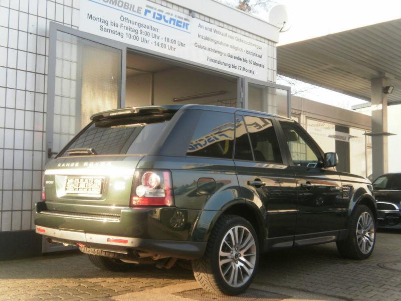 gebraucht tdv6 hse land rover range rover sport 2011 km in hamburg. Black Bedroom Furniture Sets. Home Design Ideas