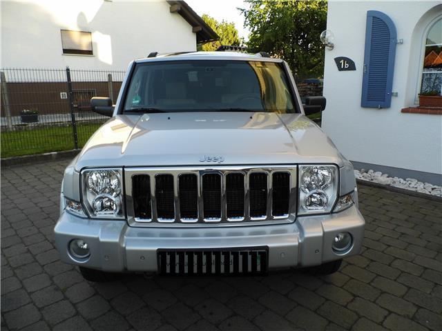 verkauft jeep commander 3 0 crd dpf au gebraucht 2006 km in echzell. Black Bedroom Furniture Sets. Home Design Ideas