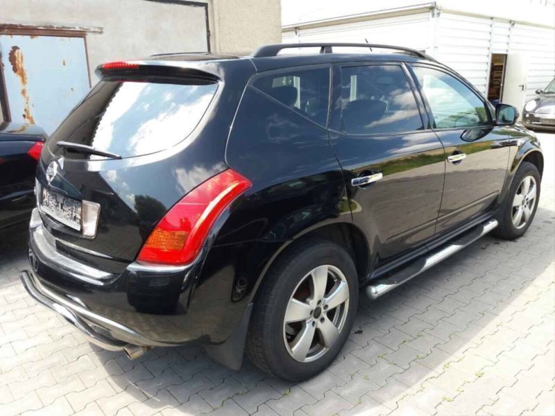 verkauft nissan murano 3 5l v6 gebraucht 2005 km in gotha. Black Bedroom Furniture Sets. Home Design Ideas