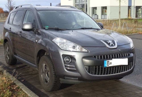 """peugeot 4007 hdi 156ps automat climatronic /ahk/18""""lmf"""