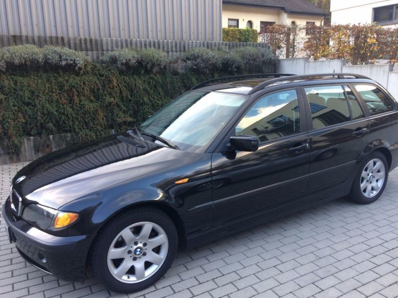 verkauft bmw 320 d touring gebraucht 2002 km in neustadt. Black Bedroom Furniture Sets. Home Design Ideas