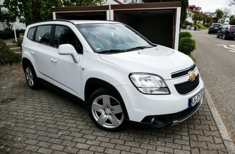 verkauft chevrolet orlando 2 0 td ltz gebraucht 2012 km in steinheim. Black Bedroom Furniture Sets. Home Design Ideas