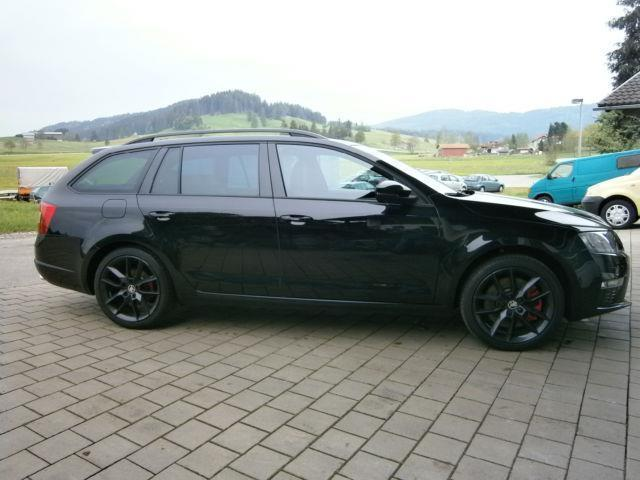 verkauft skoda octavia combi rs gebraucht 2015 km in seeg. Black Bedroom Furniture Sets. Home Design Ideas