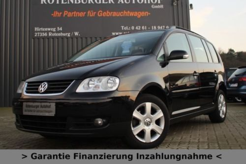 verkauft vw touran 1 9 tdi goal navi a gebraucht 2006. Black Bedroom Furniture Sets. Home Design Ideas