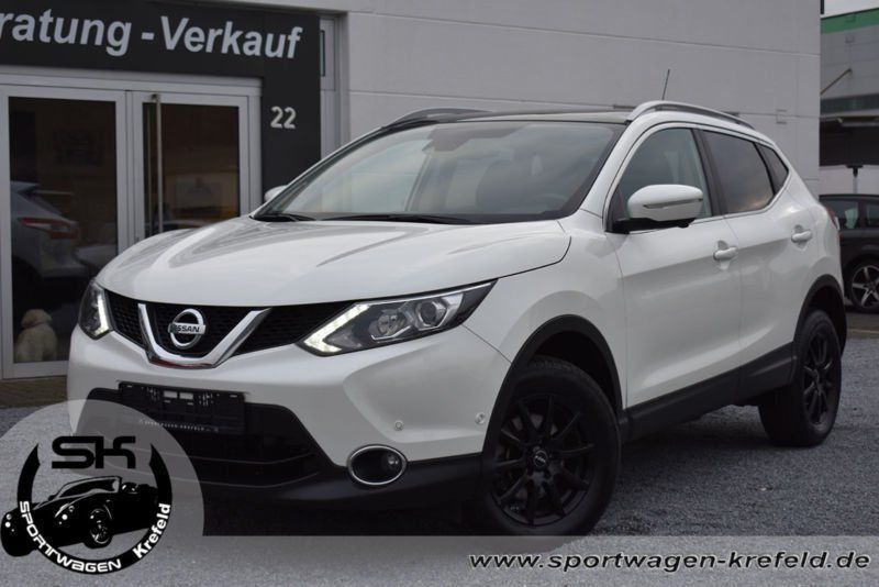 verkauft nissan qashqai tekna 4x4 nav gebraucht 2014 km in krefeld. Black Bedroom Furniture Sets. Home Design Ideas