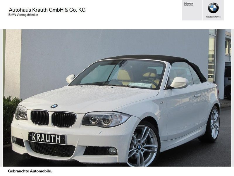 gebraucht i bmw 125 cabriolet 2011 km in heidelberg. Black Bedroom Furniture Sets. Home Design Ideas