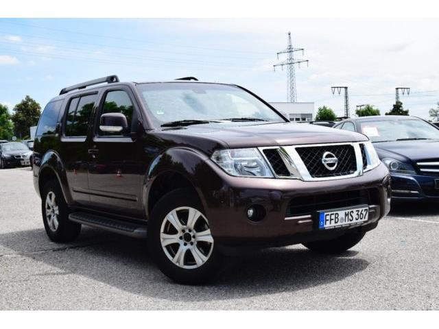verkauft nissan pathfinder 2 5 dci aut gebraucht 2011. Black Bedroom Furniture Sets. Home Design Ideas