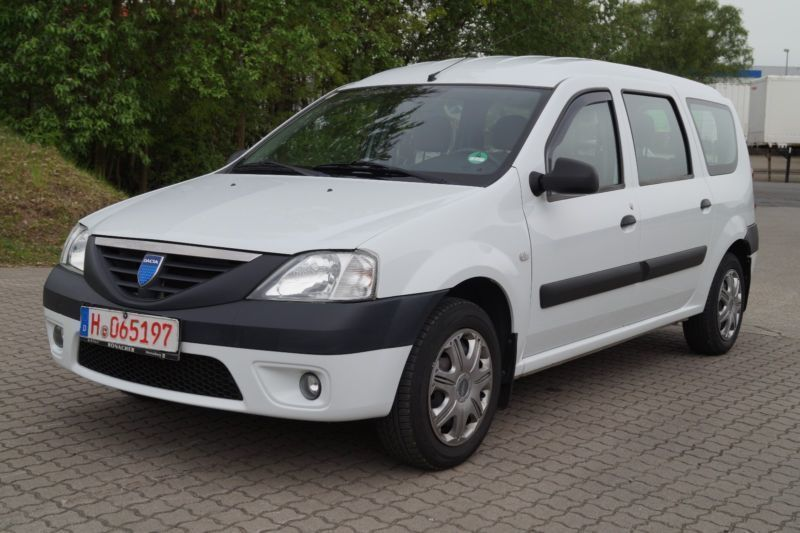 verkauft dacia logan 1 4 gebraucht 2007 km in. Black Bedroom Furniture Sets. Home Design Ideas