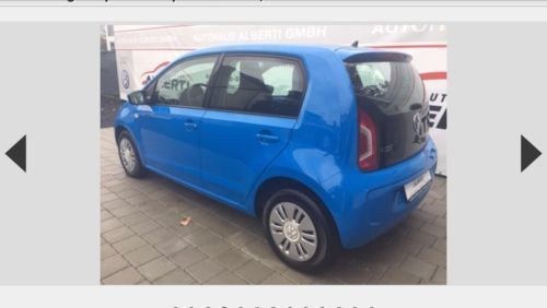 gebraucht up move vw up 2014 km in stralsund autouncle. Black Bedroom Furniture Sets. Home Design Ideas