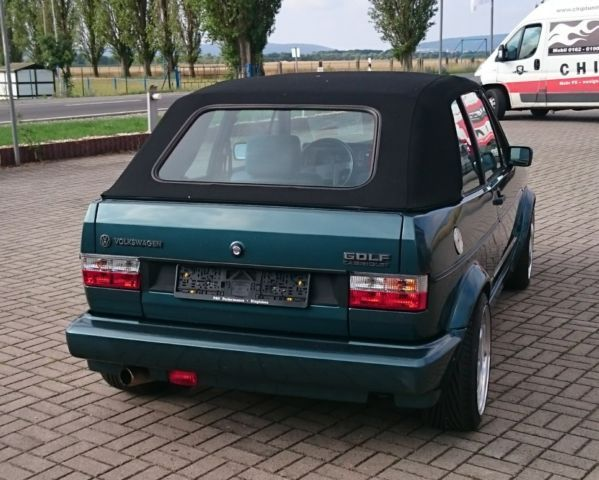 verkauft vw golf cabriolet 1 gebraucht 1990 km in vogtsburg. Black Bedroom Furniture Sets. Home Design Ideas