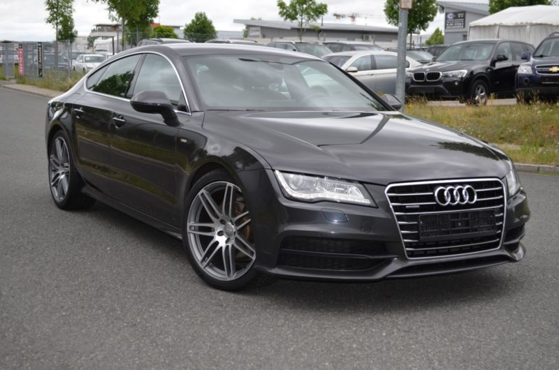 verkauft audi a7 sportback 3 0 tdi qua gebraucht 2012 km in berlin. Black Bedroom Furniture Sets. Home Design Ideas