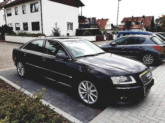 verkauft audi a8 4 2 tdi dpf quattro gebraucht 2006 km in schifferstadt. Black Bedroom Furniture Sets. Home Design Ideas