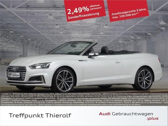 verkauft audi s5 cabriolet 3 0 tfsi qu gebraucht 2017 km in michelstadt. Black Bedroom Furniture Sets. Home Design Ideas