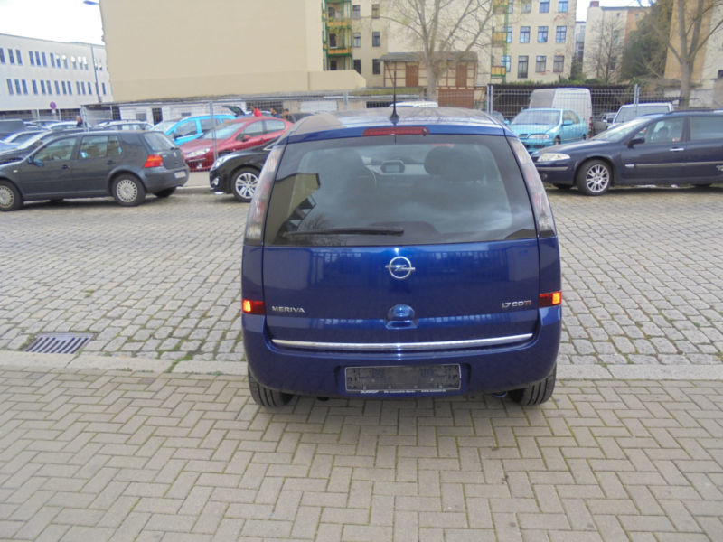 verkauft opel meriva edition euro 4 gebraucht 2006 km in sinsheim. Black Bedroom Furniture Sets. Home Design Ideas