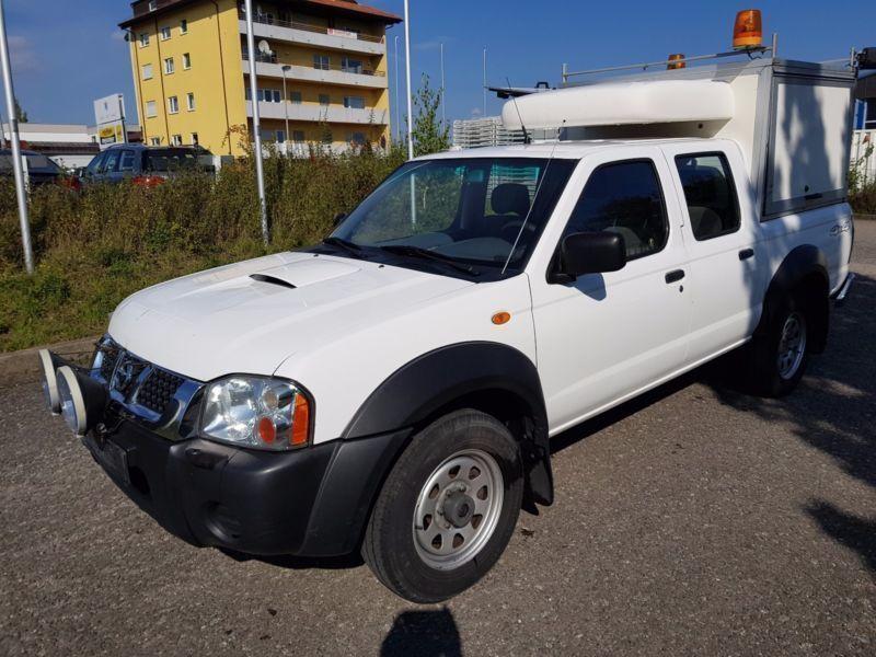 verkauft nissan pickup double cab klim gebraucht 2006 km in herrenberg. Black Bedroom Furniture Sets. Home Design Ideas
