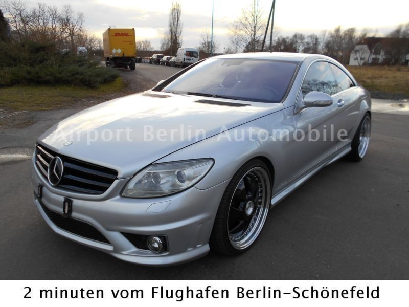 verkauft mercedes cl500 cl 500 cl coup gebraucht 2007. Black Bedroom Furniture Sets. Home Design Ideas
