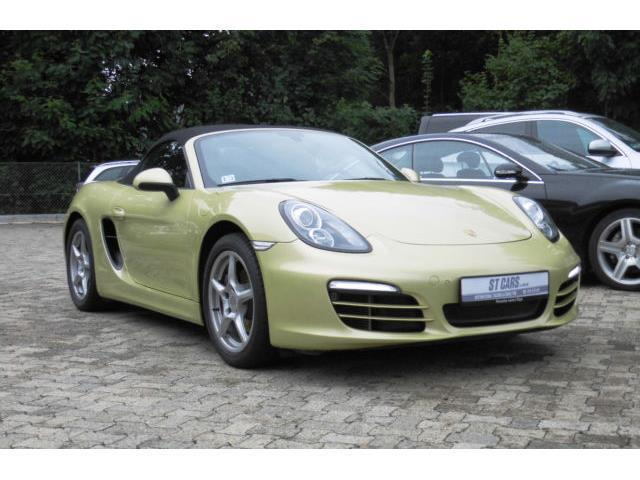 verkauft porsche boxster 2 7 pdk 981 gebraucht 2013 km in braunschweig. Black Bedroom Furniture Sets. Home Design Ideas