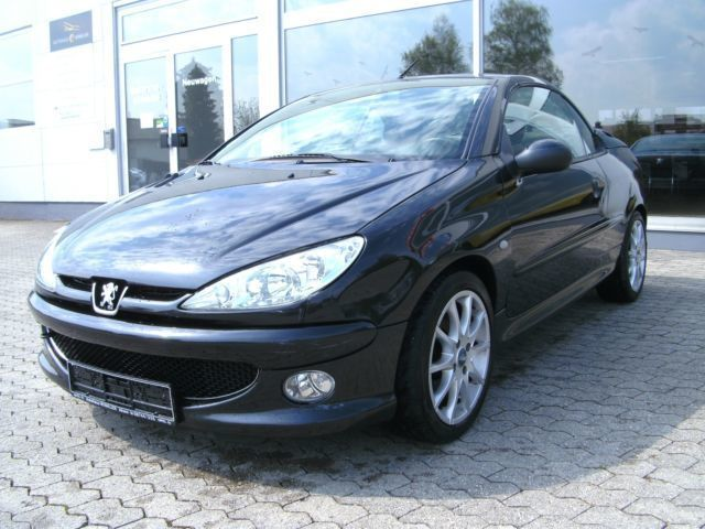verkauft peugeot 206 cc 110 gebraucht 2003 km in aham. Black Bedroom Furniture Sets. Home Design Ideas