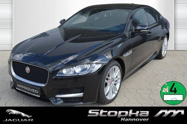 verkauft jaguar xf 30d r sport gebraucht 2016 km. Black Bedroom Furniture Sets. Home Design Ideas
