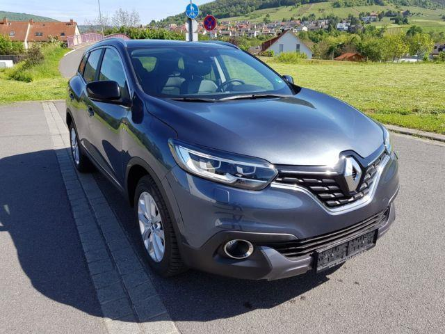 verkauft renault kadjar energy 1 2 tce gebraucht 2016 km in ostelsheim. Black Bedroom Furniture Sets. Home Design Ideas