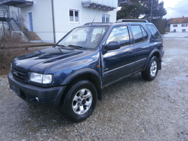 verkauft opel frontera 2 2 dti limited gebraucht 1999 km in kolbermoor. Black Bedroom Furniture Sets. Home Design Ideas