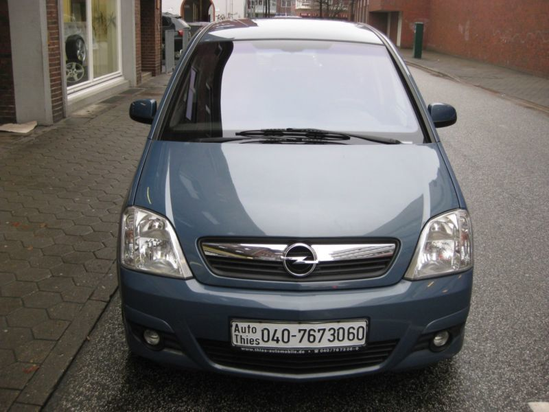 verkauft opel meriva edition gebraucht 2006 km in hamburg. Black Bedroom Furniture Sets. Home Design Ideas