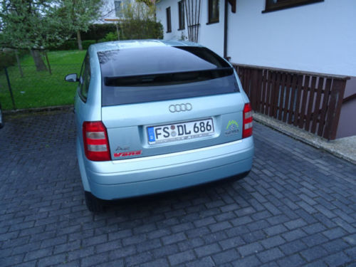 verkauft audi a2 1 2 tdi 3l gebraucht 2002 km in zolling. Black Bedroom Furniture Sets. Home Design Ideas