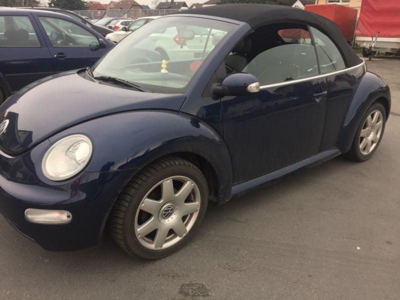 verkauft vw beetle newcabriolet 2 0 gebraucht 2003 km in geseke. Black Bedroom Furniture Sets. Home Design Ideas
